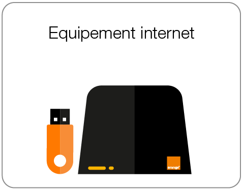 Equipement internet