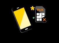 comment trouver son code puk free mobile
