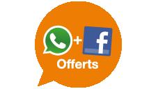 Whatsapp+Facebook offerts