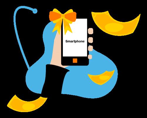 Acheter un smartphone livré à domicile