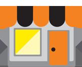 Rendez-vous dans l'une des boutiques Orange pour bénéficier de l'offre paiement sur 10 mois sans frais
