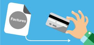 Le montant de votre facture sera prélevé automatiquement de votre compte bancaire tous les mois.
